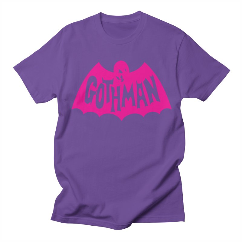 Gothman Classic Magenta Men's T-Shirt by Gothman Flavored Clothing
