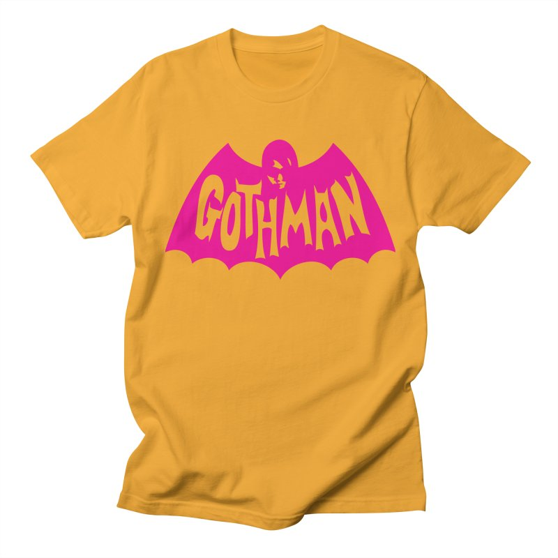 Gothman Classic Magenta Men's Regular T-Shirt by Gothman Flavored Clothing