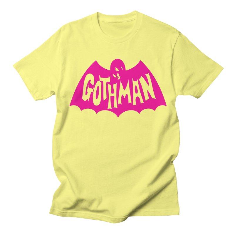 Gothman Classic Magenta Women's Regular Unisex T-Shirt by Gothman Flavored Clothing