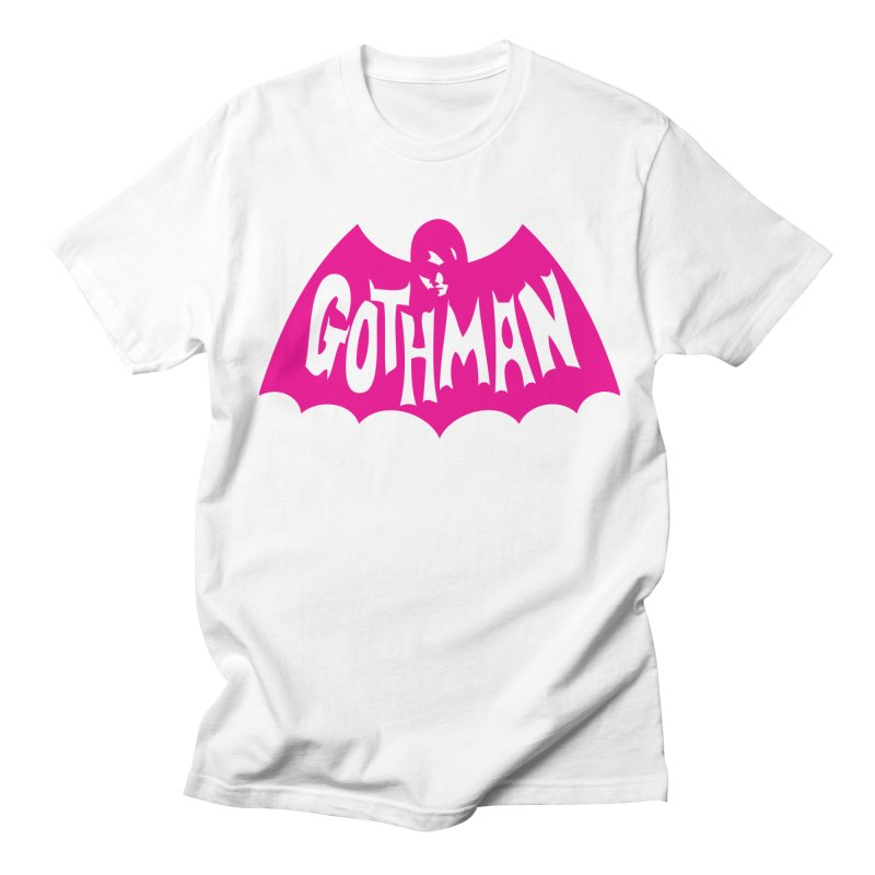 Gothman Classic Magenta Women's Regular Unisex T-Shirt by Gothman Flavored Clothing