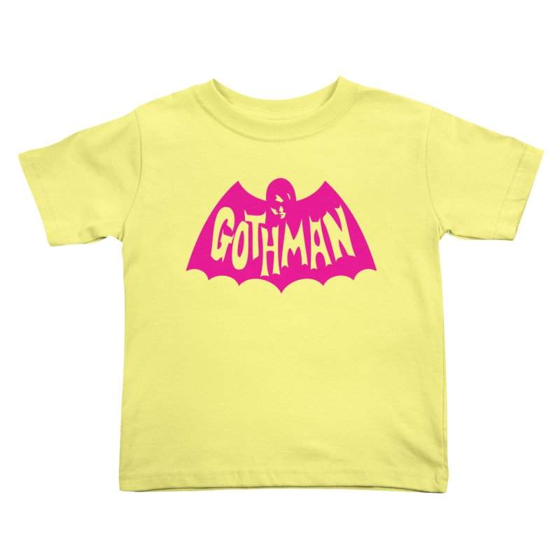 Gothman Classic Magenta Kids Toddler T-Shirt by Gothman Flavored Clothing