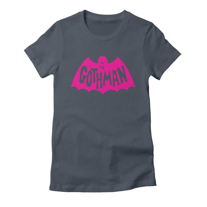 Gothman Classic Magenta Women's T-Shirt by Gothman Flavored Clothing
