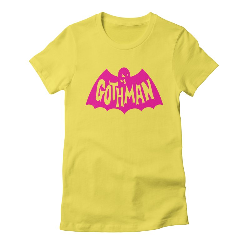 Gothman Classic Magenta Women's Fitted T-Shirt by Gothman Flavored Clothing