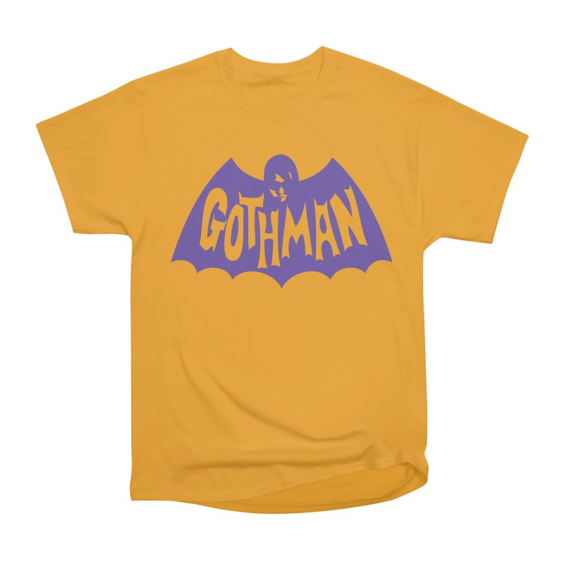 Gothman Classic Violet Men's Heavyweight T-Shirt by Gothman Flavored Clothing