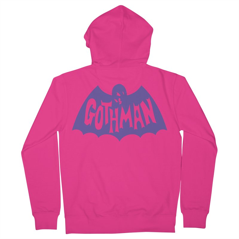 Gothman Classic Violet Men's Zip-Up Hoody by Gothman Flavored Clothing