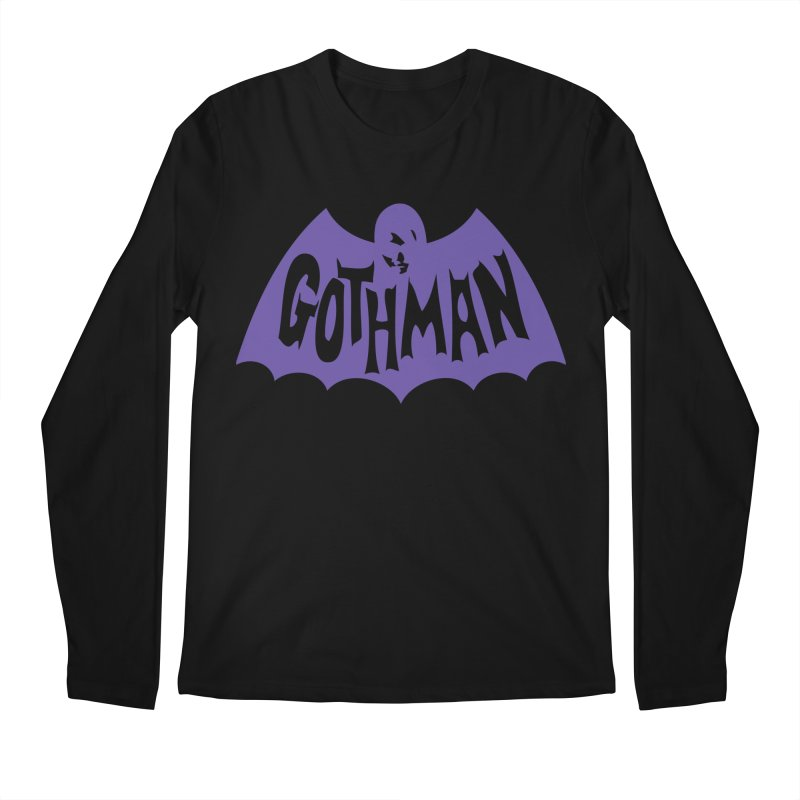 Gothman Classic Violet Men's Longsleeve T-Shirt by Gothman Flavored Clothing