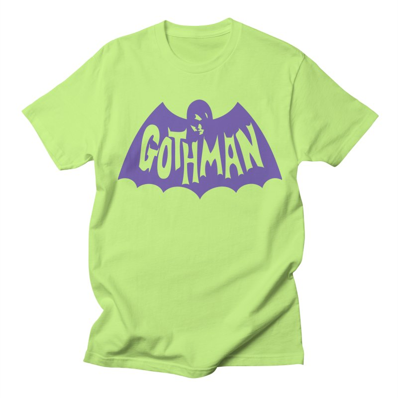Gothman Classic Violet Women's Regular Unisex T-Shirt by Gothman Flavored Clothing