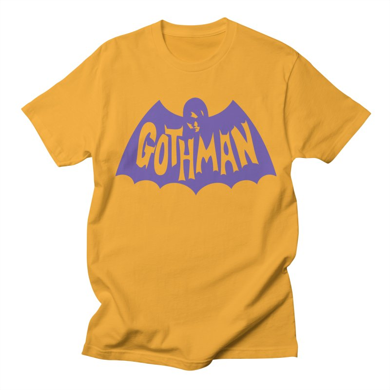 Gothman Classic Violet Men's Regular T-Shirt by Gothman Flavored Clothing