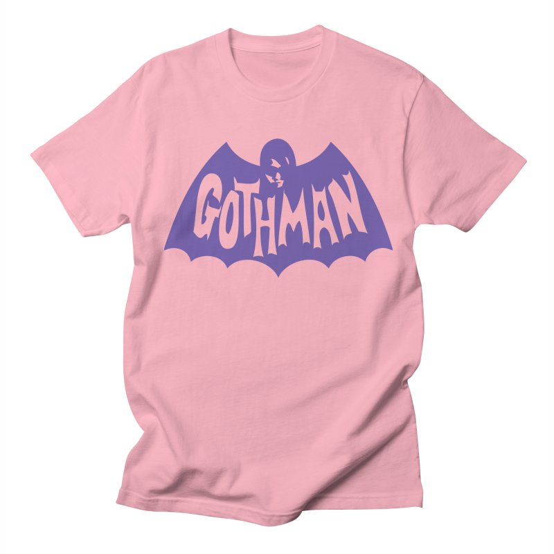 Gothman Classic Violet Men's T-Shirt by Gothman Flavored Clothing