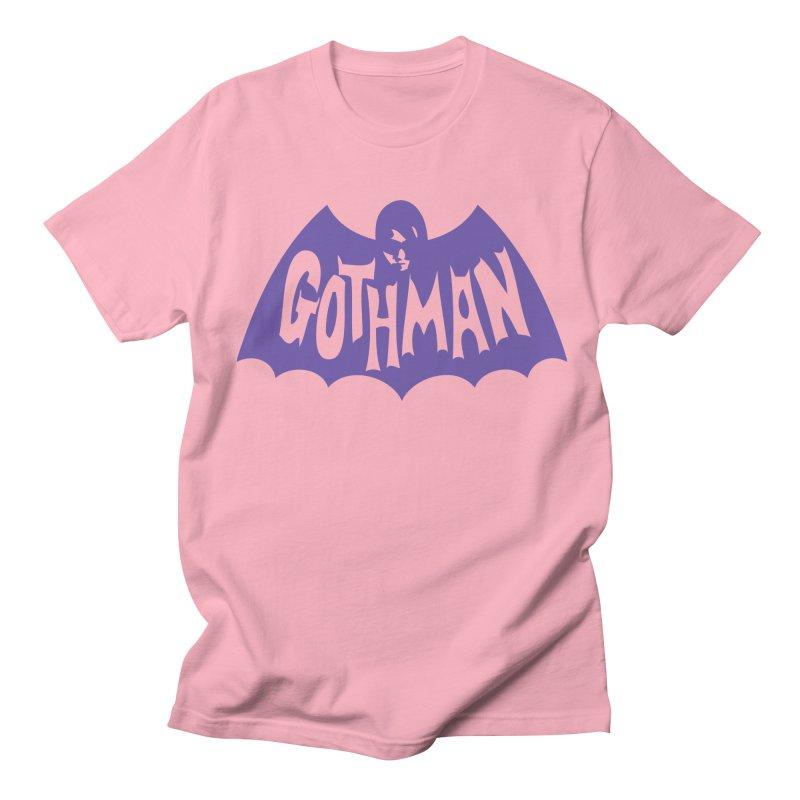 Gothman Classic Violet Women's Regular Unisex T-Shirt by Gothman Flavored Clothing