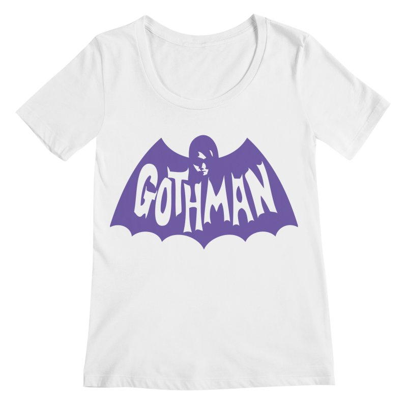 Gothman Classic Violet Women's Regular Scoop Neck by Gothman Flavored Clothing