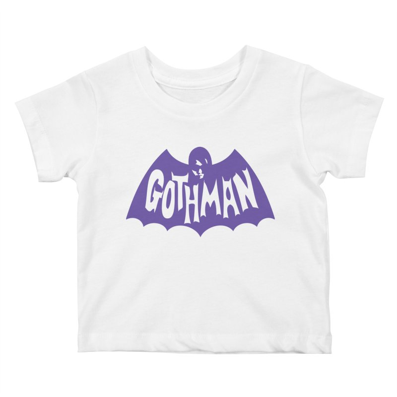 Gothman Classic Violet Kids Baby T-Shirt by Gothman Flavored Clothing