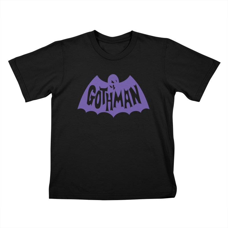 Gothman Classic Violet Kids T-Shirt by Gothman Flavored Clothing