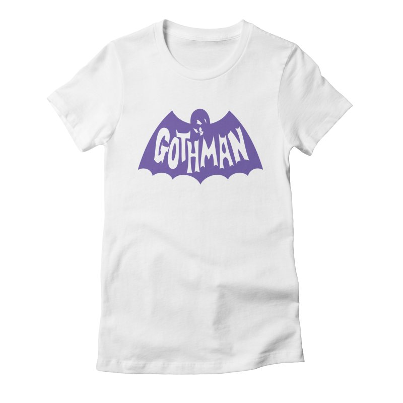 Gothman Classic Violet Women's Fitted T-Shirt by Gothman Flavored Clothing