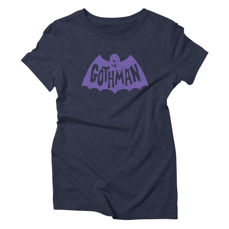 Gothman Classic Violet Women's Triblend T-Shirt by Gothman Flavored Clothing