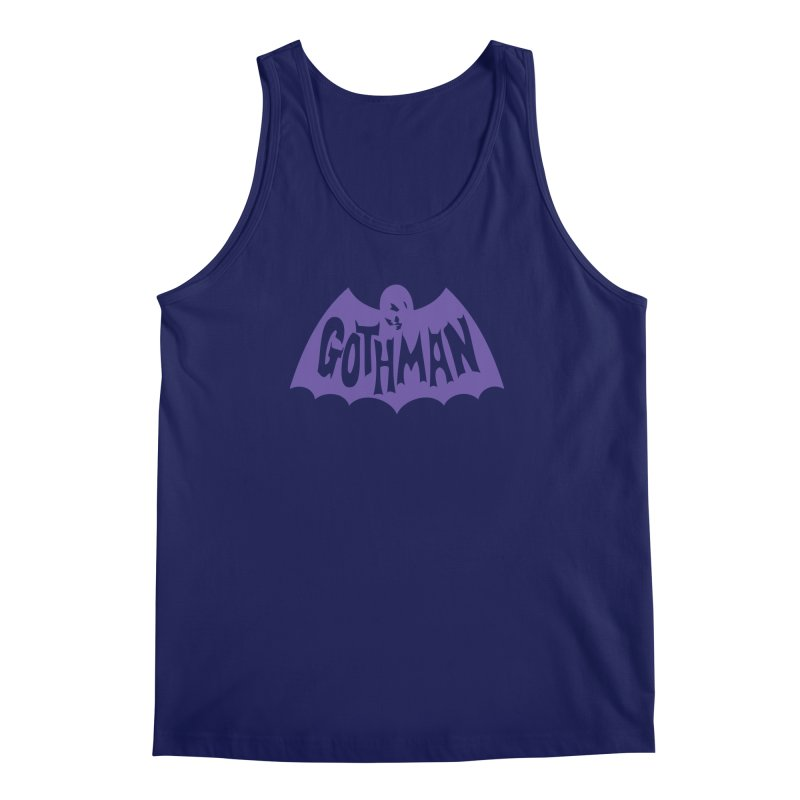 Gothman Classic Violet Men's Tank by Gothman Flavored Clothing