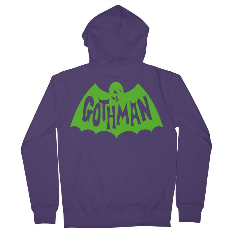 Gothman Classic Green Women's Zip-Up Hoody by Gothman Flavored Clothing