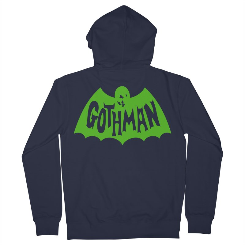 Gothman Classic Green Women's French Terry Zip-Up Hoody by Gothman Flavored Clothing