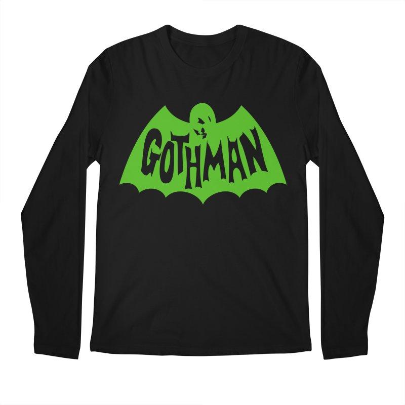 Gothman Classic Green Men's Regular Longsleeve T-Shirt by Gothman Flavored Clothing