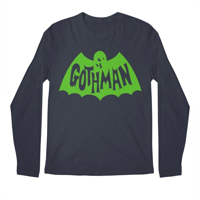 Gothman Classic Green Men's Longsleeve T-Shirt by Gothman Flavored Clothing