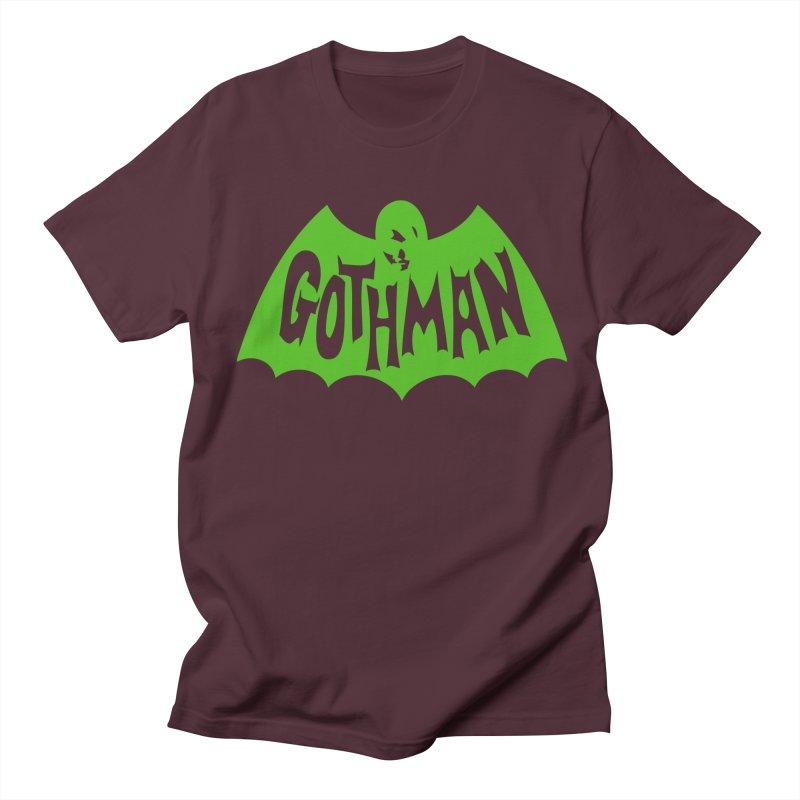 Gothman Classic Green Women's Unisex T-Shirt by Gothman Flavored Clothing