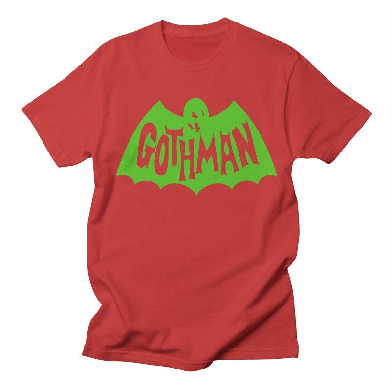 Gothman Classic Green Men's Regular T-Shirt by Gothman Flavored Clothing