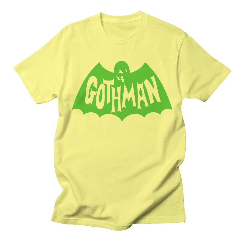 Gothman Classic Green Men's T-Shirt by Gothman Flavored Clothing