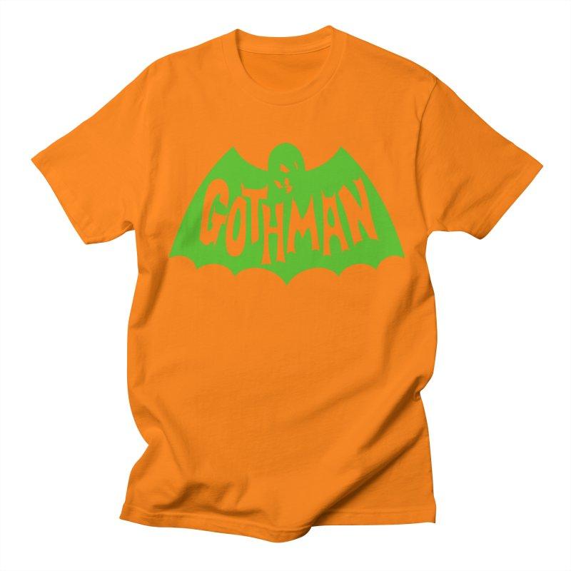 Gothman Classic Green Women's Regular Unisex T-Shirt by Gothman Flavored Clothing