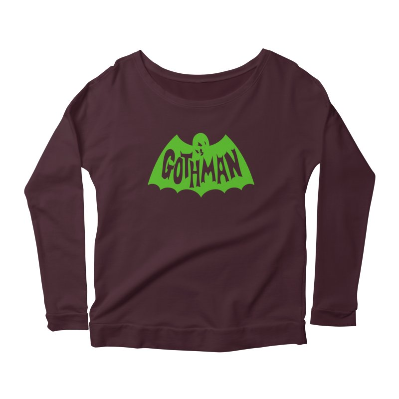 Gothman Classic Green Women's Longsleeve T-Shirt by Gothman Flavored Clothing