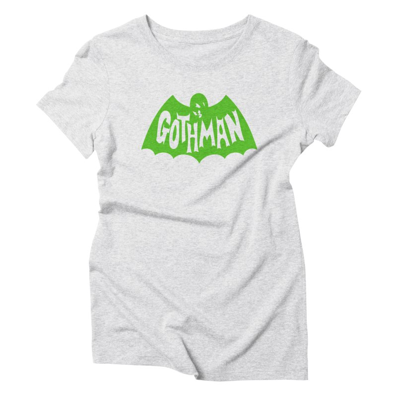 Gothman Classic Green Women's Triblend T-Shirt by Gothman Flavored Clothing