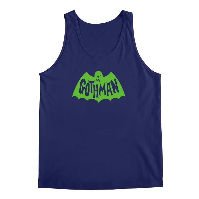 Gothman Classic Green Men's Tank by Gothman Flavored Clothing