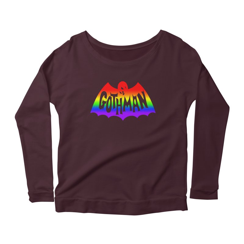 Gothman Classic Taste The Rainbow Women's Longsleeve T-Shirt by Gothman Flavored Clothing