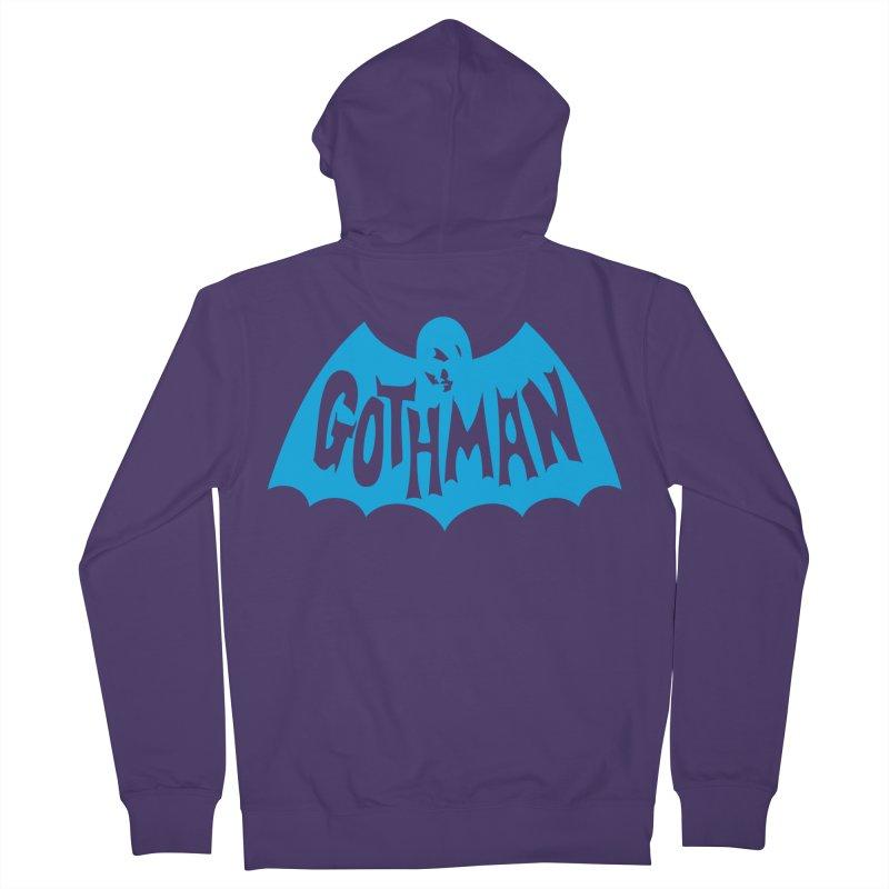 Gothman Classic Cyan Women's Zip-Up Hoody by Gothman Flavored Clothing