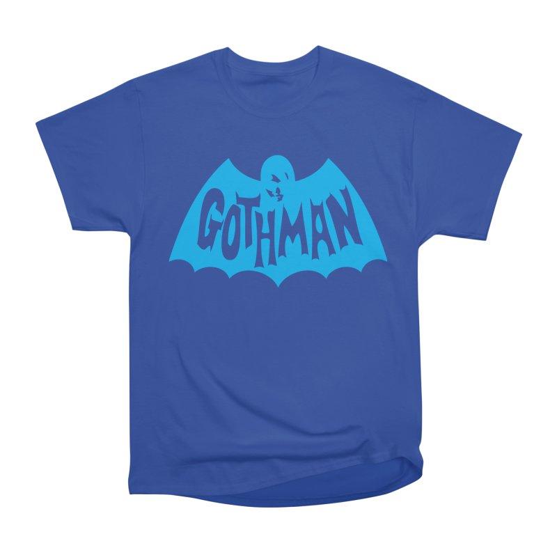 Gothman Classic Cyan Men's Heavyweight T-Shirt by Gothman Flavored Clothing