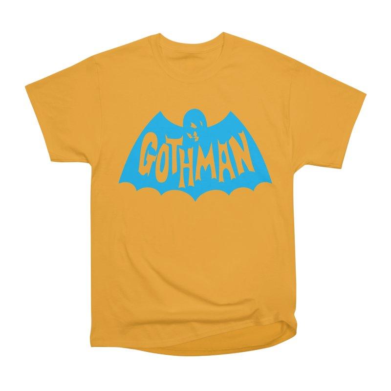 Gothman Classic Cyan Women's Heavyweight Unisex T-Shirt by Gothman Flavored Clothing