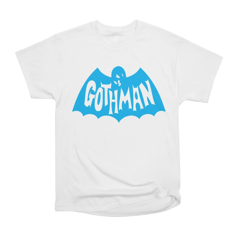 Gothman Classic Cyan Women's Heavyweight Unisex T-Shirt by Gothman Flavored Clothing