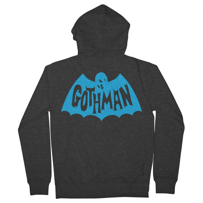 Gothman Classic Cyan Men's Zip-Up Hoody by Gothman Flavored Clothing