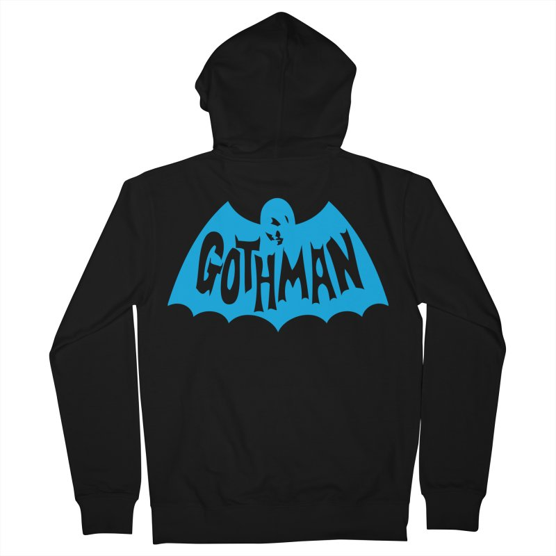 Gothman Classic Cyan Men's French Terry Zip-Up Hoody by Gothman Flavored Clothing