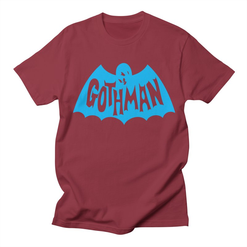Gothman Classic Cyan Men's Regular T-Shirt by Gothman Flavored Clothing