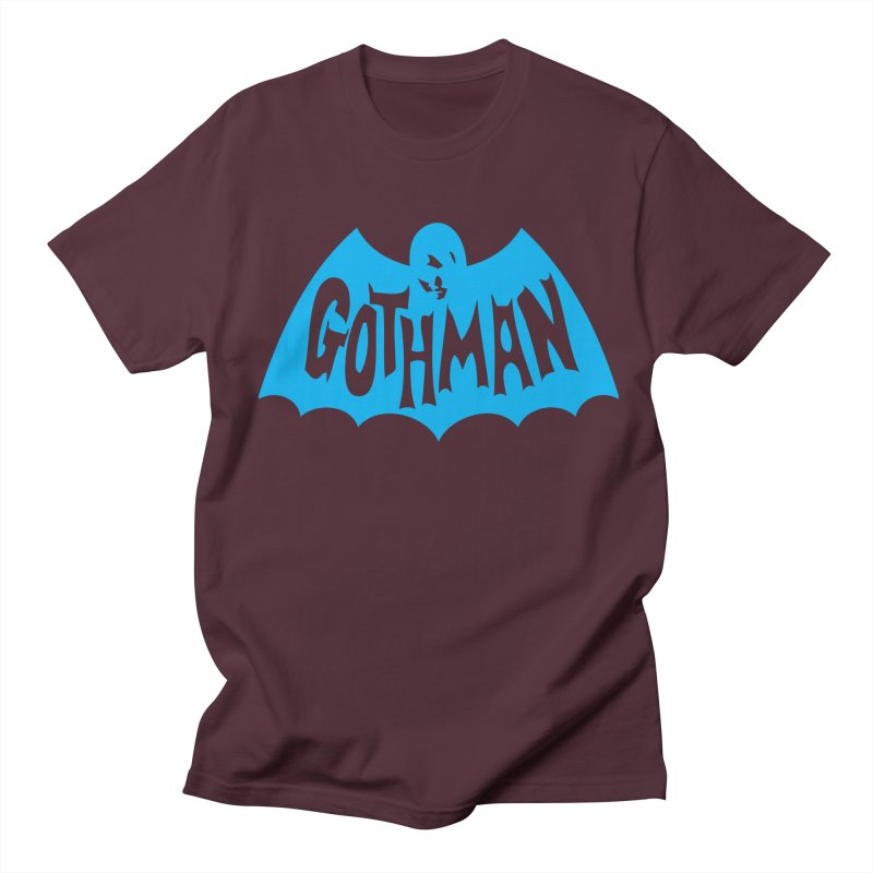 Gothman Classic Cyan Men's T-Shirt by Gothman Flavored Clothing