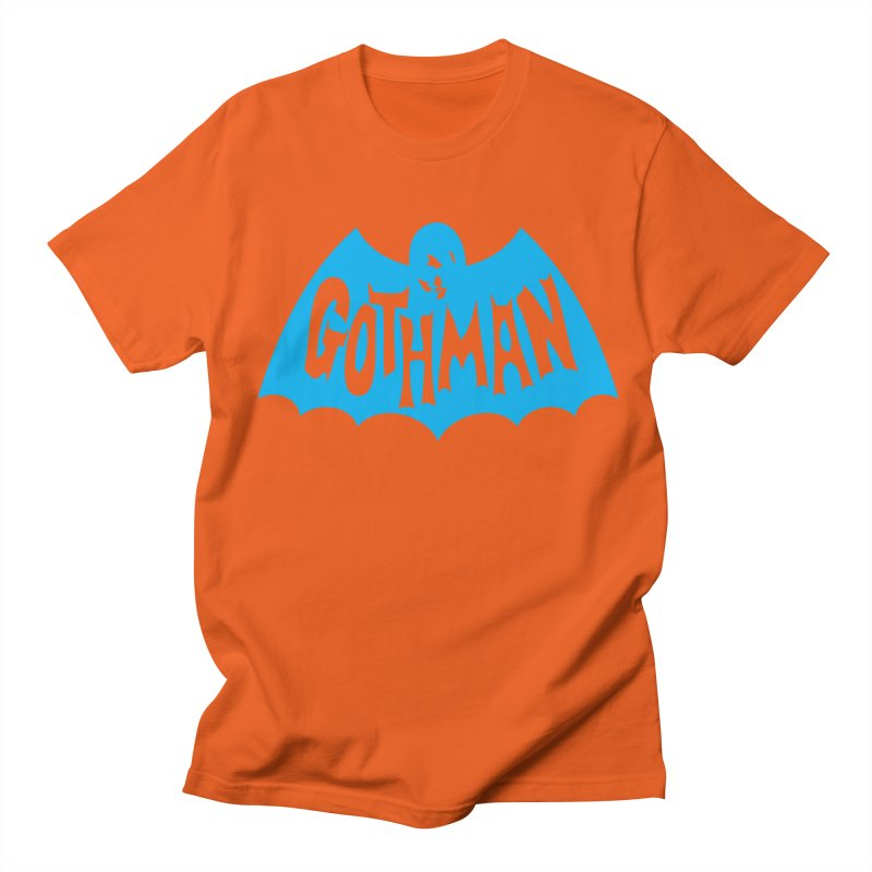 Gothman Classic Cyan Women's Unisex T-Shirt by Gothman Flavored Clothing