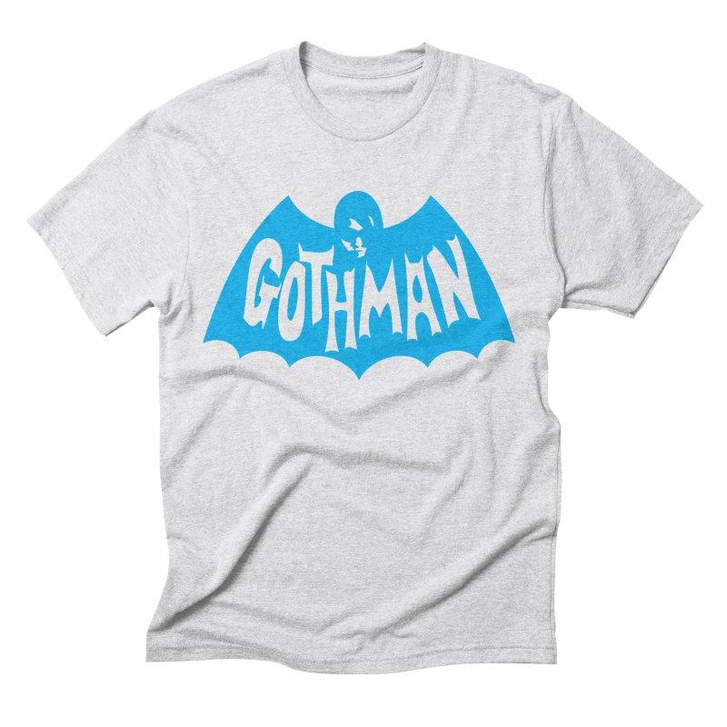 Gothman Classic Cyan Men's Triblend T-Shirt by Gothman Flavored Clothing