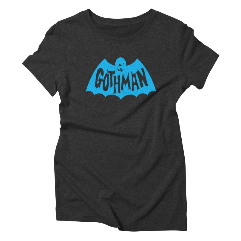 Gothman Classic Cyan Women's Triblend T-Shirt by Gothman Flavored Clothing