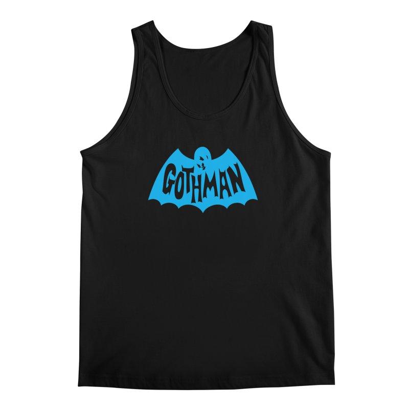 Gothman Classic Cyan Men's Regular Tank by Gothman Flavored Clothing