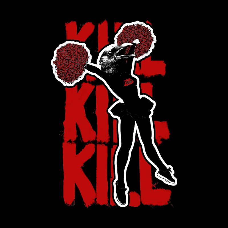Blood Makes the Grass Grow Kill Kill Kill - (2018 Version) Men's T-Shirt by Gothman Flavored Clothing