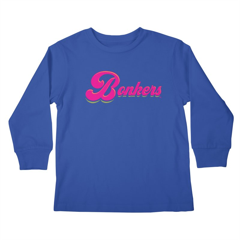 Bonkers! Kids Longsleeve T-Shirt by Gothman Flavored Clothing