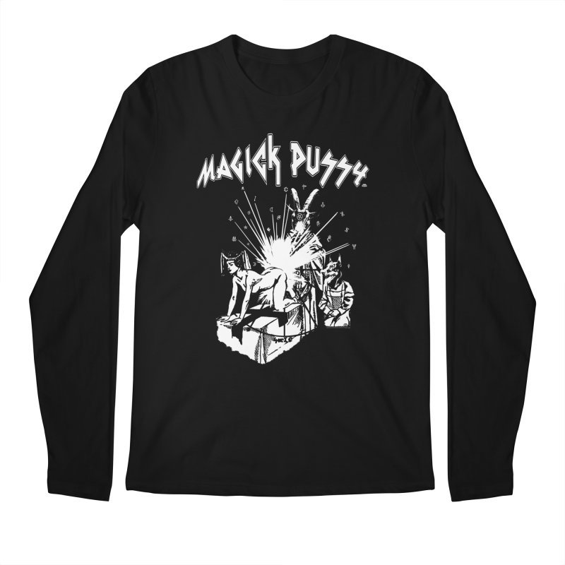 Magick Pussy Men's Longsleeve T-Shirt by Gothman Flavored Clothing