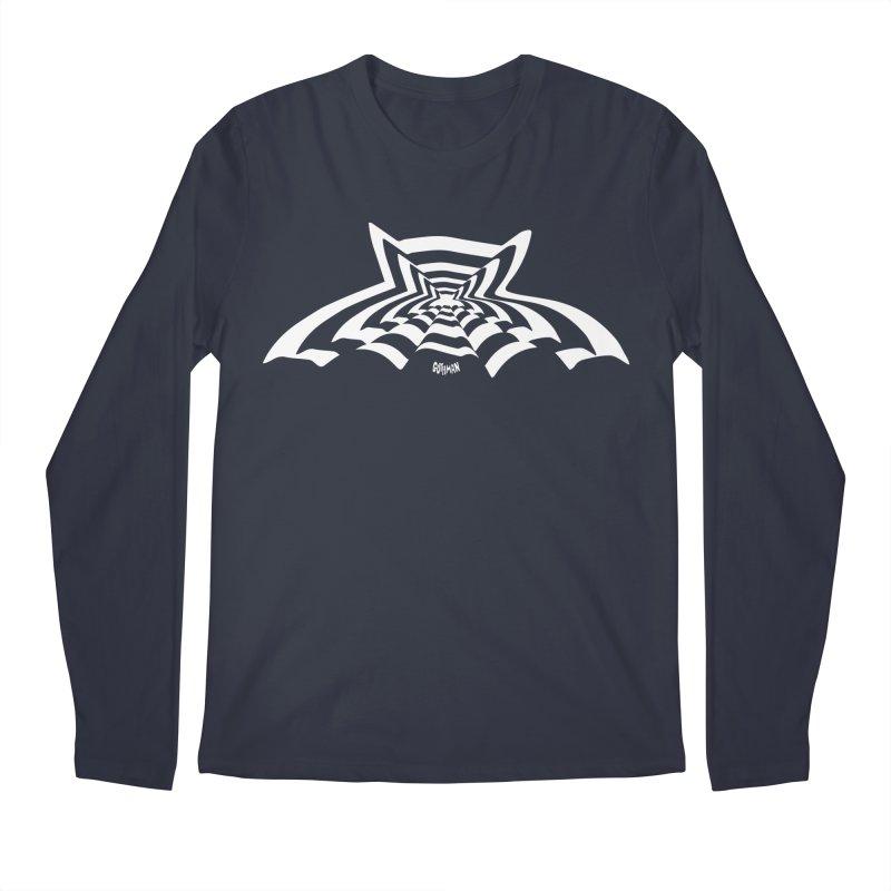 9 Bats (No. 3) Men's Regular Longsleeve T-Shirt by Gothman Flavored Clothing