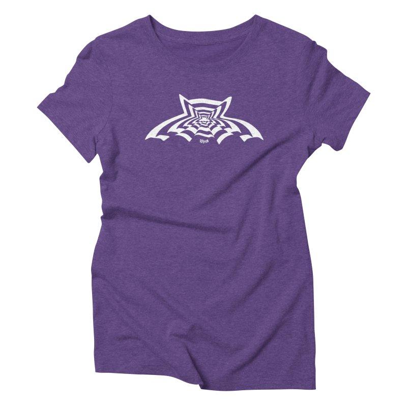 9 Bats (No. 3) Women's Triblend T-Shirt by Gothman Flavored Clothing