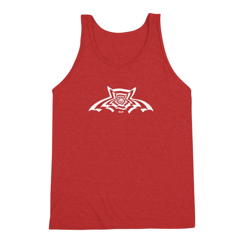 9 Bats (No. 3) Men's Triblend Tank by Gothman Flavored Clothing